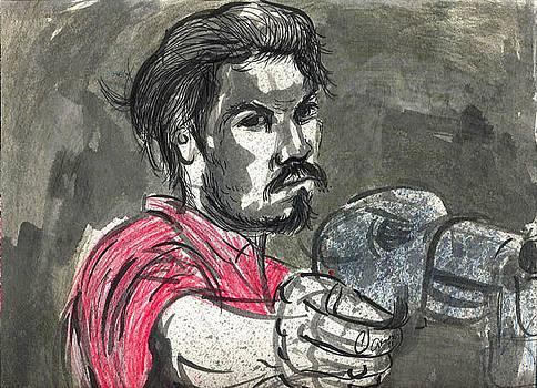 De la serie obrero y tesitura. by Alondra Alonso Alvarez