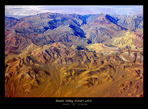 James BO  Insogna - Death Valley PLANET eARTh Poster