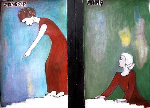 Diptych by Elena Buftea