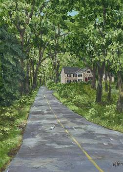 Down a Country Road by Margie Perry