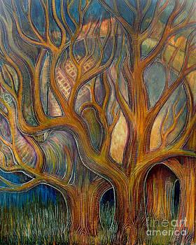 Elephant in trees by Monica Furlow