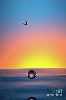 Sami Sarkis - Faling Droplet into water surface