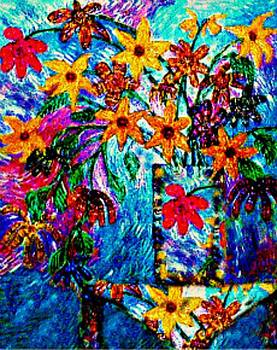 Fantasy Flowers by Brenda Adams