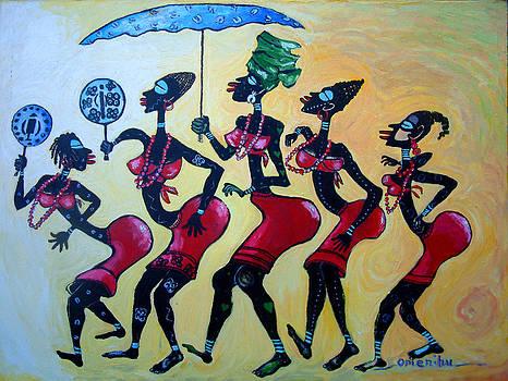 Female Right of Passage by Omenihu Amachi