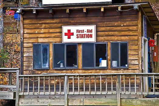 First Aid Station by Susan Leggett