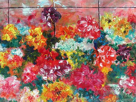 Floral Bonanza by Tonya Schultz
