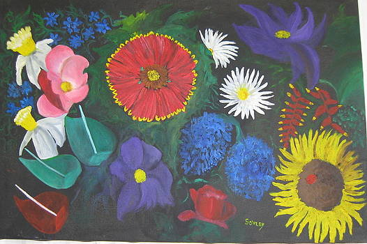 Flowers 2 by John Sowley