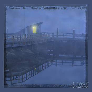 Foggy pier by Jim Wright