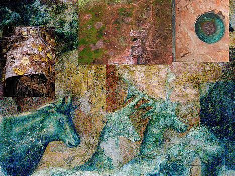 Fresco Fragments by Simi Berman