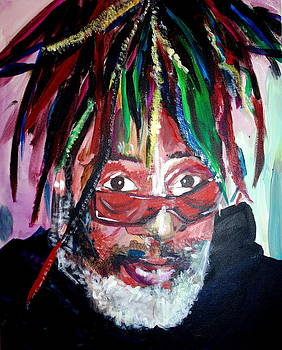 George Clinton by Kate Fortin