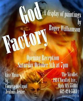 God Factory An Exhibition of Paintings by Roger Williamson by Roger Williamson