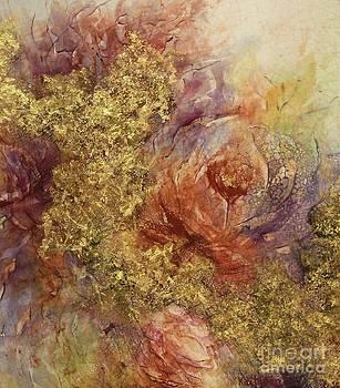 Golden Rose Path by Kathleen Pio