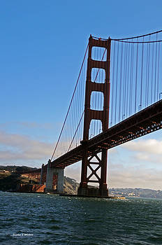 Jonathan Whichard - Golden View  Golden Gate Bridge San Francisco California