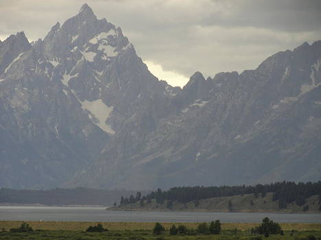 Grand Tetons by Melissa Limoges