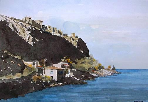 Greek village by Samir Sokhn