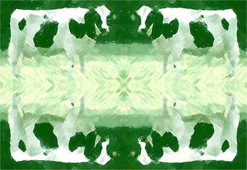 Green Cows by Mark Einhorn