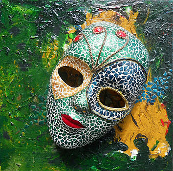 Green Masquerade by Carol McLagan