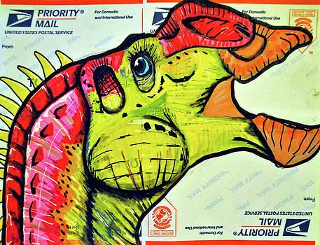 Gryposaurus by Josean Rivera
