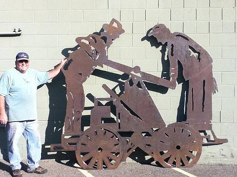 Hand Cart by Steve Mudge