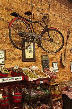 Hanging Bicycle by Bob Whitt