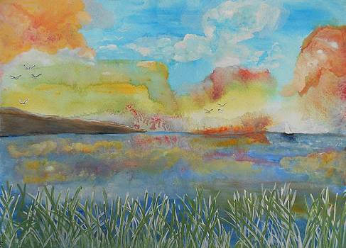 He leads me beside the still waters by Barbara McNeil