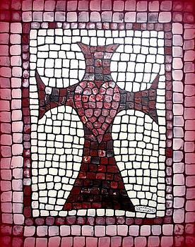 Heart Cross by Cynthia Amaral