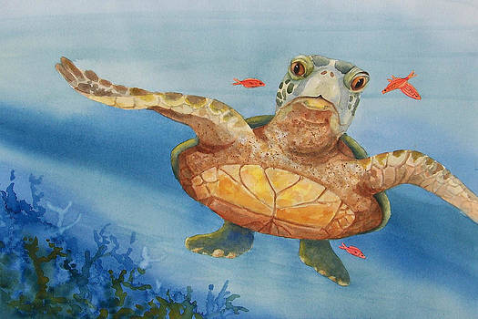 Henry C. Turtle-Lunch with Friends by Joy Braverman
