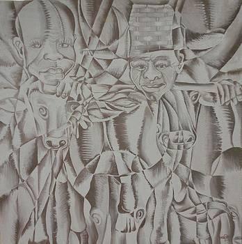 Herds Men by Yenaye  Rene Mkerka