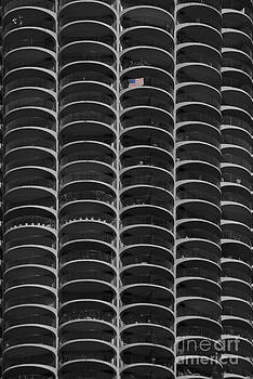 High rise patriotism by Jim Wright