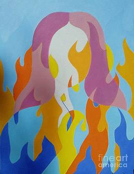 Homa in Fire by Ziba Bastani