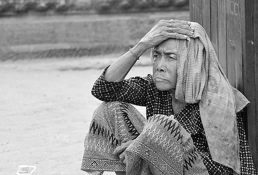 Homeless Lady by Boyd Nesbitt