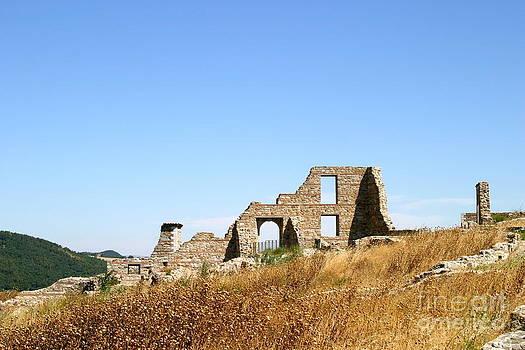 Italian Village Ruins by James Thomas