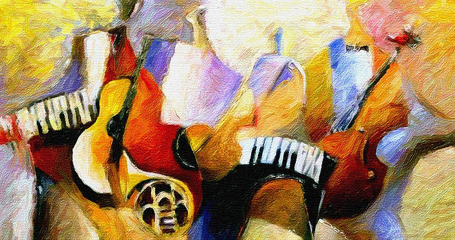 Jazz Session by Alonzo Butler