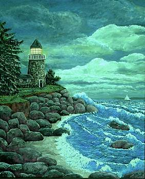Jerry's Lighthouse by Ave Hurley