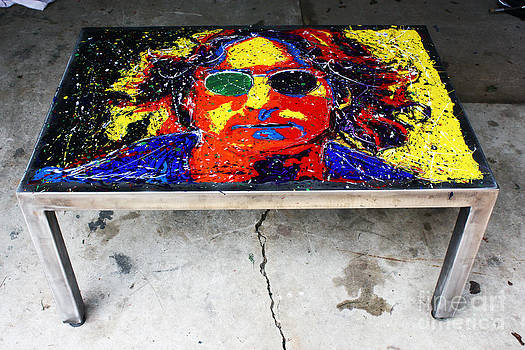 John Lennon Coffee Table by Chris Mackie