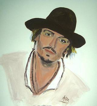 Johnny Depp by Marie Bulger