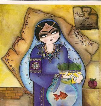 Khatoon  norouz by Mahshid Zali