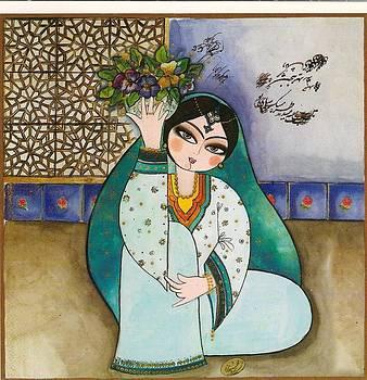 Khatoon Pansy by Mahshid Zali