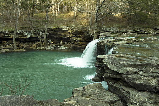 King River Falls by Cindy Rubin