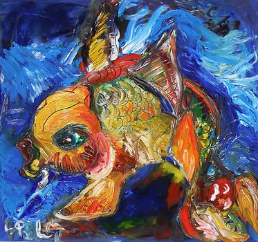 Jon Baldwin  Art - KOI Fish
