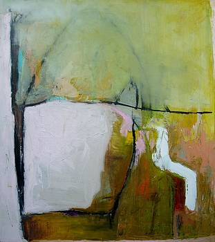 Large Abstract by Brooke Wandall