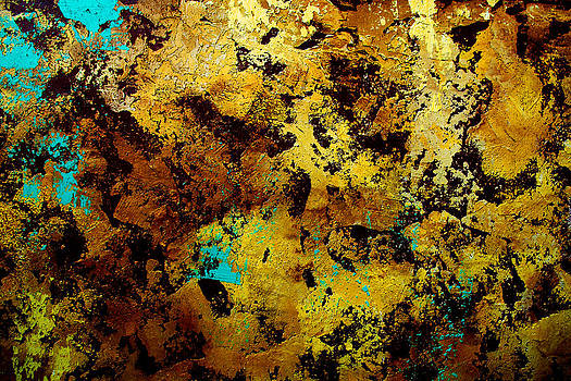 Layers of old Paint by Frank DiGiovanni