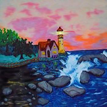 Lighthouse by Karen R Scoville