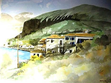 Limeni village by Samir Sokhn