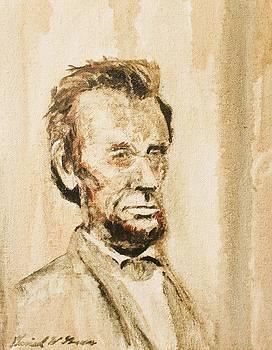Lincoln Portrait #11 by Daniel W Green