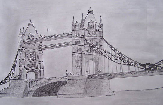 London Bridge by Nabyendu Kumar