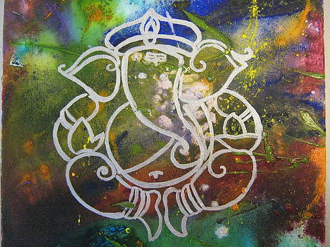 Lord Ganesh of the Universe by Fatima Pardhan