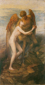 George Frederic Watts - Love and Life