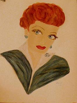 Lucille Ball by Marie Bulger