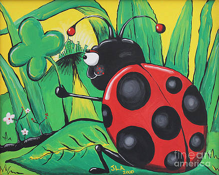 Luck be a Lady Bug by Jennifer Alvarez